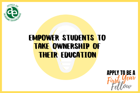 empower students to take ownership of their education. apply to be an fyf