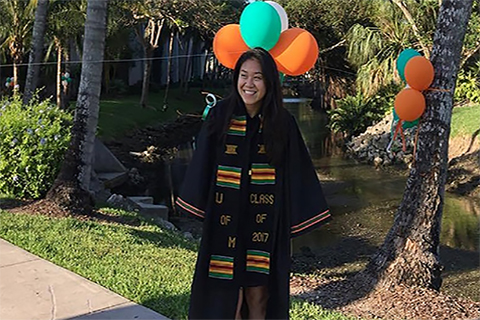 rystal Lam, co-founder of First Generation U, celebrates her time at The U and her new graduate school journey!